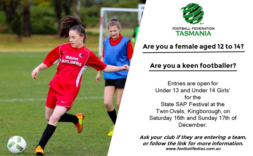 Are you a female aged 12 to 14?
